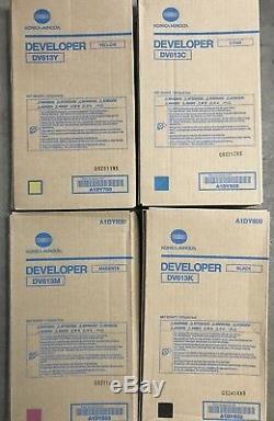 Nouveau Konica Minolta Set De Developpement Bizhub Press C8000 C / M / Y / K Dv613