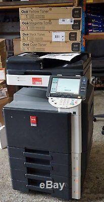 Oce Variolink 2822c Copieur D'imprimante De Groupe De Travail Konica Minolta Bizhub C280 Utilisé