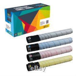 Pack De 4-toners Pour Konica Bizhub C364e C224e C224 C284 C364 C284e Tn321