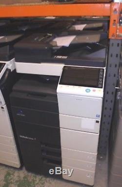 Photocopieur / Imprimante Couleur Konica Minolta Bizhub C554e Avec Agrafeuse