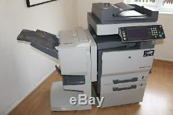 Photocopieur Scanner Konica Minolta Bizhub C 250 + Finisseur De Feuilles Avec Agrafeuse