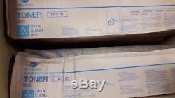 Pièces D'imprimante Laser De Lot De Travail De Konica Minolta Bizhub / Toner C25 C35 C3110 26pcs