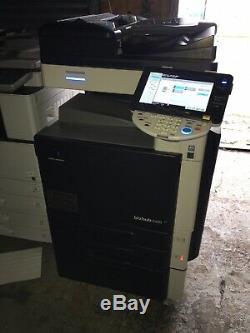 Scanner D'imprimante Réseau Copieur Couleur Konica Minolta Bizhub C220 Norfolk Dans Le Suffolk