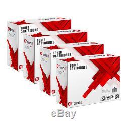 Set De Toner 4x Pour Konica Minolta Bizhub C451 C550 C650 A070151 Tn411k Kompatibel