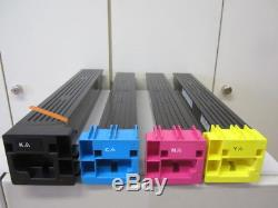 Set Toner Original Konica Minolta Tn-611k / C / M / Y Pour Bizhub C550, C650 Neu