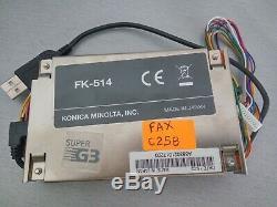 Télécopieur Fk-514 Pour Imprimeur Multimédia Bizhub C258 C308 C368 C458 C558