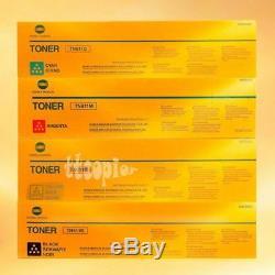 Tn611 Cmy + Tn411k Lot De 4 Tonica Authentique Konica Minolta Bizhub C451