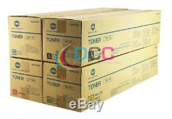 Tn711 Cmyk Set Authentique Konica Minolta Pour Bizhub C754 / A3vu-set / Lot De 4