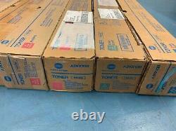 Toner Authentique Konica Minolta Bizhub X7 Tn619 Cyan Jaune Magenta Tn619m C1060 +