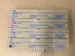 Toner Authentique Konica Tn-514 Cmyk Set Pour Bizhub C458 C558 C658