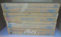 Toner Konica Minolta Cmyk Tn216k Tn216c Tn216m Tn216y F. Bizhub C220 C280 Neu