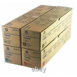 Toners Cmyk Pour Konica Minolta Bizhub C454e/c554e/c258/c308/c368 Tn512 Tn324