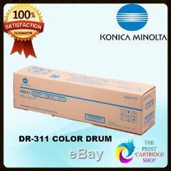 Unité De Tambour Couleur Authentique Konica Minolta Bizhub C220 / C280 / C360 A0xv0td Dr311cmy