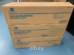 Véritable Konica Minolta Bizhub C550 C650 Fûts Unités D'imagerie Iu610c Iu610m Iu610y
