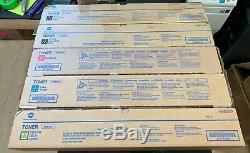 Véritable Konica Minolta Bizhub Toner Set Tn619k Tn619y Tn619c Tn619m C1070 C3080
