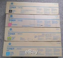 Véritable Konica Minolta Tn711 Toner Bizhub C654 / C754 C, Y, M K