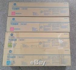 Véritable Konica Minolta Toner Tn711 Bizhub C654 / C754 C, Y, M