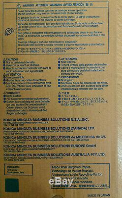 Véritable Minolta Original Konica Dv-610c A04p900 Cyan Pour Bizhub Pro C6500